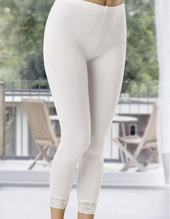 beyaz uzun tayt fk339