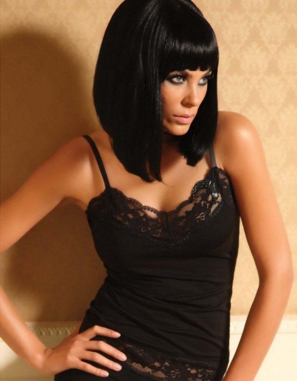 siyah bayan t-shirt fk336