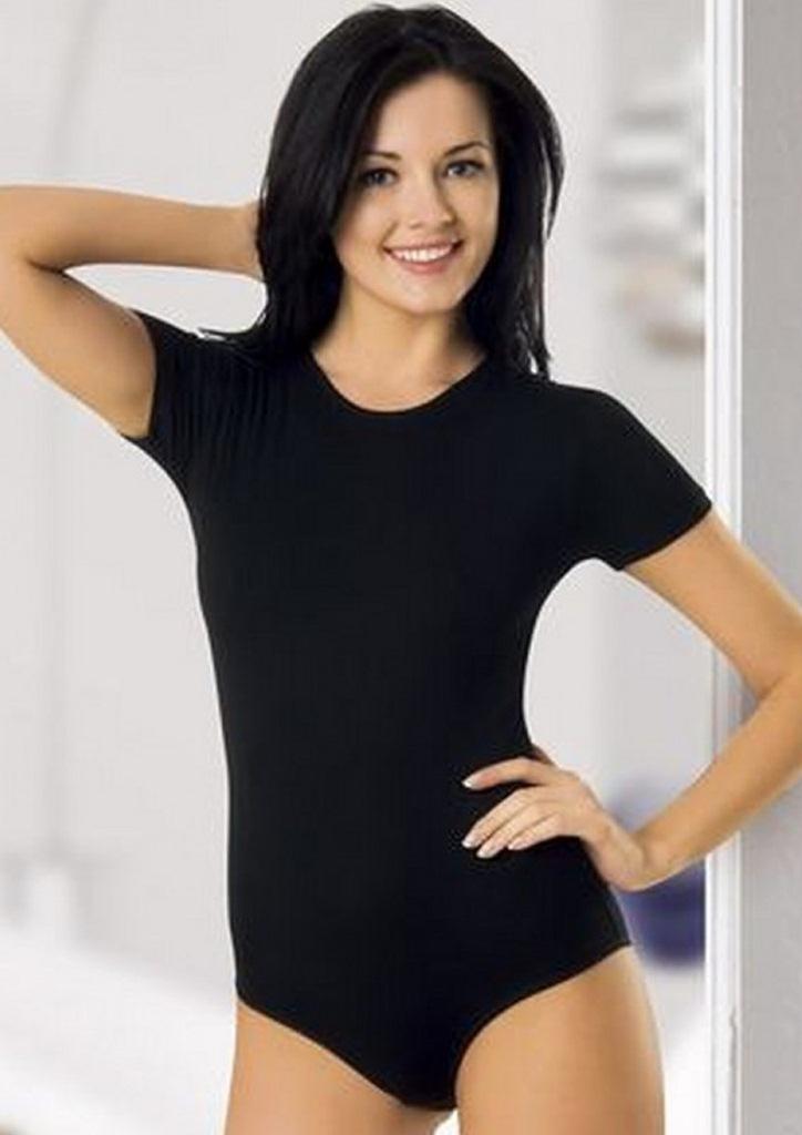 siyah kısa kollu çıtçıtlı body fk1439