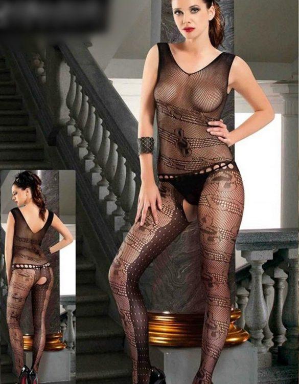 kalın askılı bayan vücut çorabı fk2326