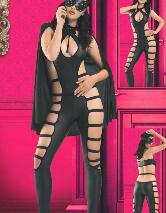 pelerinli dansçı kız kostümü fk4022