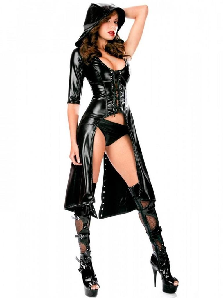 siyah fantezi dansçı kostümü fk4782